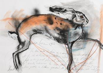 Margo Banks, Hare at Morgan O'Driscoll Art Auctions