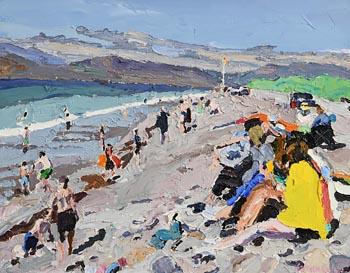 Stephen Cullen, Rossbeigh Beach, Co Kerry at Morgan O'Driscoll Art Auctions