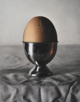 Catherine Creaney, Cracked Egg at Morgan O'Driscoll Art Auctions