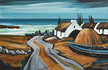 J.P. Rooney, Return to the Isles at Morgan O'Driscoll Art Auctions