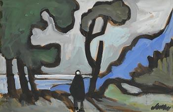 Markey Robinson, Shawlie Homeward Bound at Morgan O'Driscoll Art Auctions