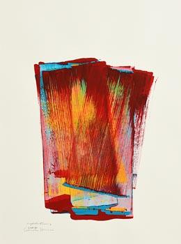 Ciaran Lennon, Acrylic Paint Drawing (2014) at Morgan O'Driscoll Art Auctions