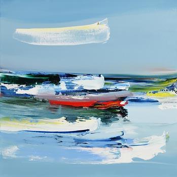 Majella O'Neill Collins, Sherkin Sound at Morgan O'Driscoll Art Auctions