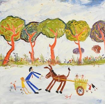 Simeon Stafford, The Stubborn Donkey at Morgan O'Driscoll Art Auctions