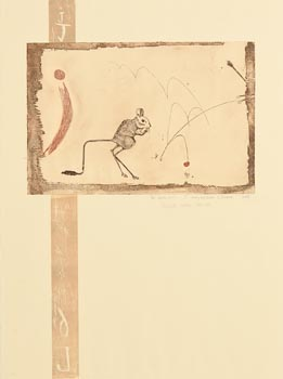 Patrick Hickey, The Alphabet J - Jumping Bean and Jerbra (1987-88) at Morgan O'Driscoll Art Auctions