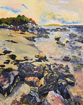 Dorothee Roberts, Near Cuas Pier Caves, Beara Peninsuala at Morgan O'Driscoll Art Auctions