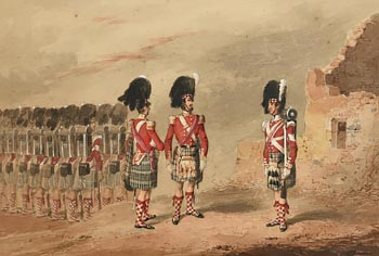Michael Angelo Hayes, 78th Highlanders (Ross-shire Buffs) at Morgan O'Driscoll Art Auctions
