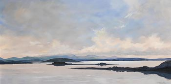 Bernard Reynolds, Evening, Clew Bay (2004) at Morgan O'Driscoll Art Auctions