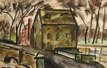 Norah Allison McGuinness, The Old Mill at Morgan O'Driscoll Art Auctions