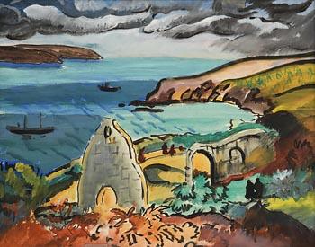 Evie Hone, Kerry Coastal Landscape at Morgan O'Driscoll Art Auctions