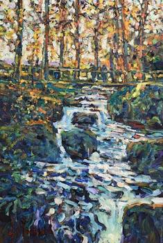 Arthur K. Maderson, The Upper Pool in Glen Shelane, Near Cappoquin at Morgan O'Driscoll Art Auctions