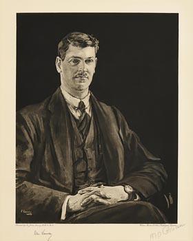 Sir John Lavery, Michael Collins at Morgan O'Driscoll Art Auctions
