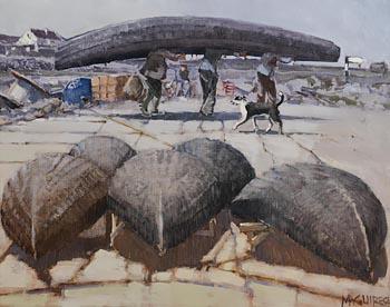 Men of Inisheer (1984) at Morgan O'Driscoll Art Auctions