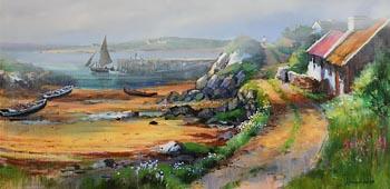 Kenneth Webb, Low Tide, Connemara at Morgan O'Driscoll Art Auctions