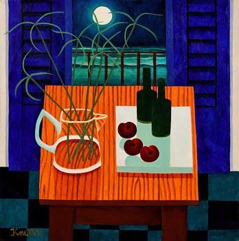 Graham Knuttel, Moonlight at Morgan O'Driscoll Art Auctions
