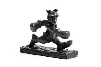 Patrick O'Reilly, Boxer Bear (2016) at Morgan O'Driscoll Art Auctions