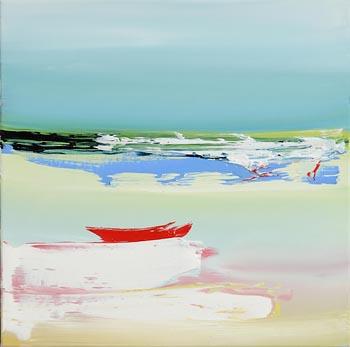 Majella O'Neill Collins, Sherkin Seas (2017) at Morgan O'Driscoll Art Auctions