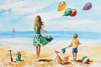 Lorna Millar, Flying Balloons at Morgan O'Driscoll Art Auctions