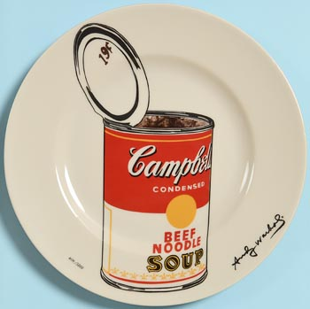 after Andy Warhol, Campbell Soup Can at Morgan O'Driscoll Art Auctions