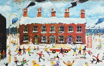 Simeon Stafford, Merry Christmas at Morgan O'Driscoll Art Auctions