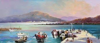 William Cunningham, Summer, Valentia Island, Co. Kerry at Morgan O'Driscoll Art Auctions