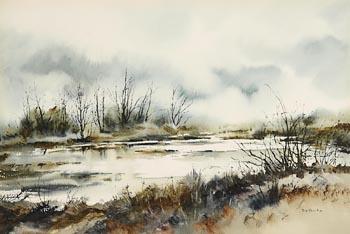 Phyllis Del Vecchio, Bog Scene at Morgan O'Driscoll Art Auctions