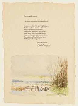 Padraig Lynch, December Evening at Morgan O'Driscoll Art Auctions
