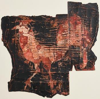 Ross Wilson, Red Cockerel at Morgan O'Driscoll Art Auctions