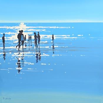 John Morris, Light Reflections at Morgan O'Driscoll Art Auctions
