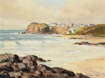 Maurice Canning Wilks, Breaking Waves at Morgan O'Driscoll Art Auctions