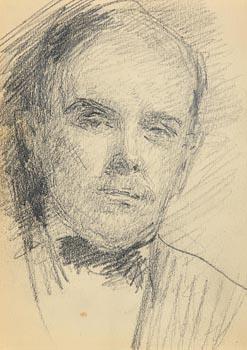 John Butler Yeats, Portrait of a Gentleman at Morgan O'Driscoll Art Auctions