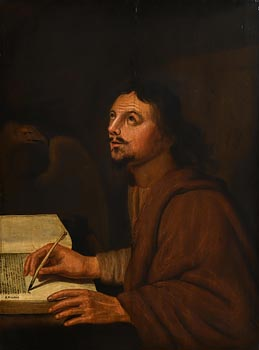A. Neranus, Portrait of John the Evangelist at Morgan O'Driscoll Art Auctions