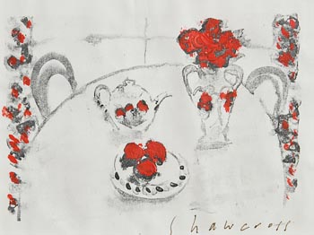 Neil Shawcross, Still Life on Table at Morgan O'Driscoll Art Auctions