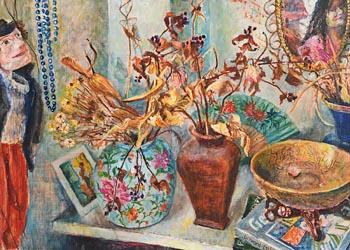 Sarah Longley, Still Life (2008) at Morgan O'Driscoll Art Auctions