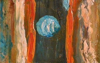 Tony O'Malley, Blue Moon at Morgan O'Driscoll Art Auctions