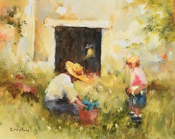 Elizabeth Brophy, The Old Shed at Morgan O'Driscoll Art Auctions