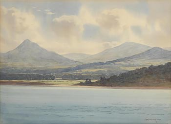 Captain George Drummond, Killiney from Dalkey Hill at Morgan O'Driscoll Art Auctions