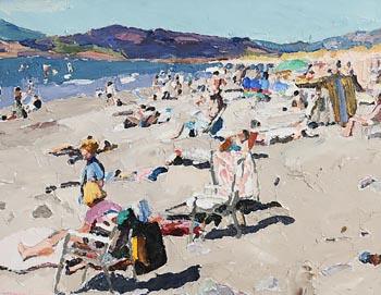 Stephen Cullen, Rossleigh Beach, Kerry at Morgan O'Driscoll Art Auctions