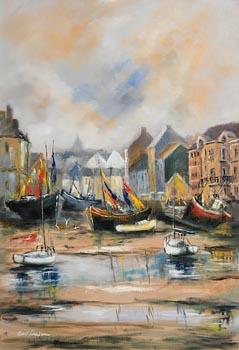 Niall Campion, Boats at Kinsale, Co. Cork (2021) at Morgan O'Driscoll Art Auctions