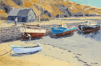 Ivan Sutton, Low Tide, North Harbour, Cape Clear Island at Morgan O'Driscoll Art Auctions