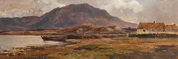 Alexander Williams, Fisherman's Cottage, Achill at Morgan O'Driscoll Art Auctions