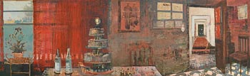 Frances Ryan, Red Room (2009-10) at Morgan O'Driscoll Art Auctions