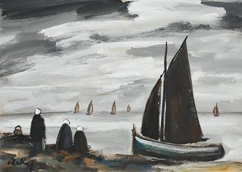 Markey Robinson, The Fleet Returning at Morgan O'Driscoll Art Auctions