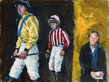 John Fitzgerald, Exit the Weigh Room at Morgan O'Driscoll Art Auctions
