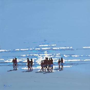 John Morris, Into the Light at Morgan O'Driscoll Art Auctions