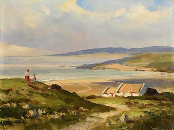 Maurice Canning Wilks, On Mulroy Bay, Co. Donegal at Morgan O'Driscoll Art Auctions