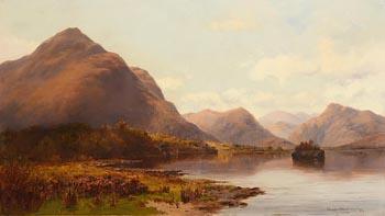 Alexander Williams, Lower Lake, Muckross, Killarney (1894) at Morgan O'Driscoll Art Auctions