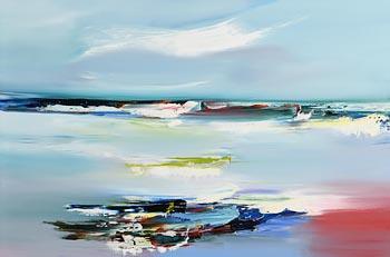 Majella O'Neill Collins, Still Sea Sherkin (2020) at Morgan O'Driscoll Art Auctions