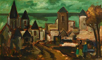 Markey Robinson, Entering the Old City at Morgan O'Driscoll Art Auctions