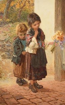 Samuel McCloy, Flowers for Teacher at Morgan O'Driscoll Art Auctions